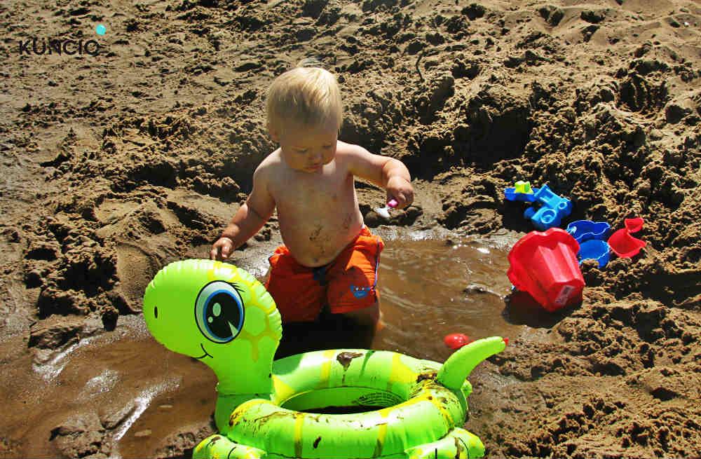 Zabawa w piachu