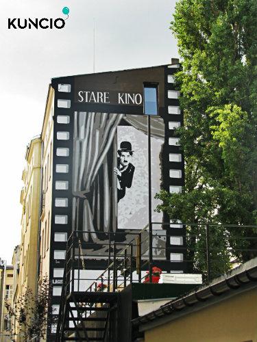 Stare kino w Łodzi