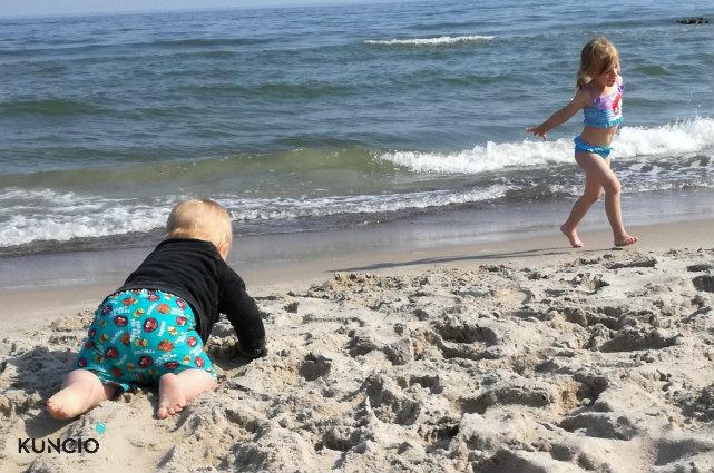 Z rodziną na plażę